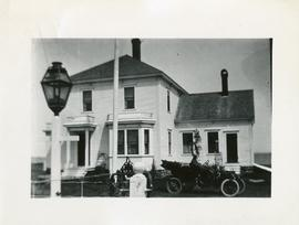Dr. John F. Macaulay house, Castalia.  He came to Grand Manan in 1905, died 1939.  Large square h...