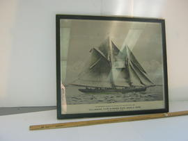 """The Esperanto - Winner of the International Fisherman's Race - 1920"" advertising poste..."