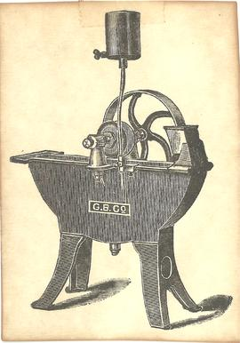 Illustrations of Mounted Grindstone