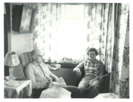 John & Pauline Alward on Porch