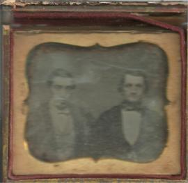 George K. Etter & Unknown Man Photograph