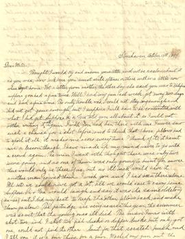 James Leaman Dixon Letter Collection
