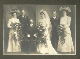 Captain G. Anderson Wedding Photograph