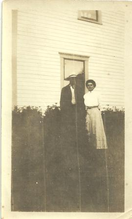 John & Mabel Alward at Wood Point