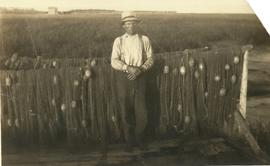 John Alward with Fishing Nets