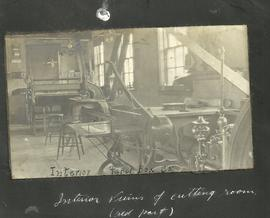 Interior View of Cutting Room
