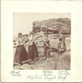 Group Sitting on Ragged Reef