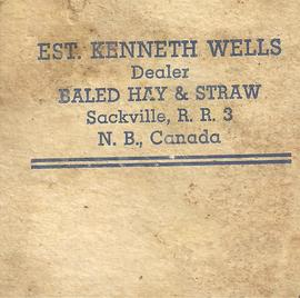 Kenneth Wells Merchandise Tags