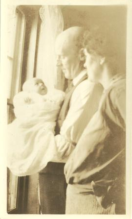 Mabel, John & Pauline Alward